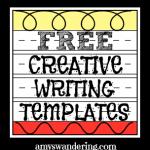 Free Creative Writing Templates