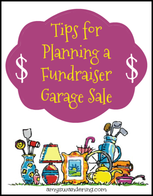 Tips for Planning a Fundraiser Garage Sale