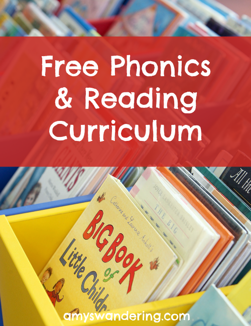 Free Phonics & Reading Curriculum