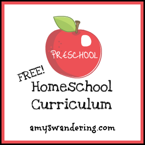 free preschool & kindergarten curriculum