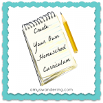 Create Your Own Curriculum