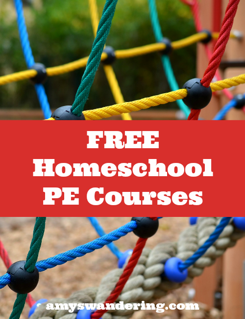 Free Homeschool PE Courses