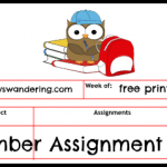 Assignment Sheets