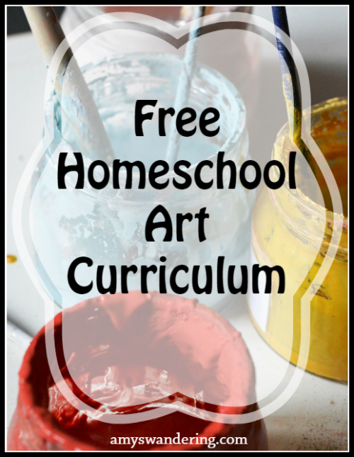 Free Homeschool Art Curriculum