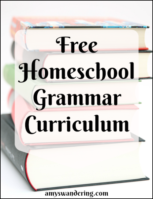 Free Homeschool Grammar Curriculum