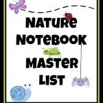 Nature Notebook Master List