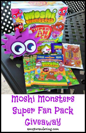 moshi monsters giveaway