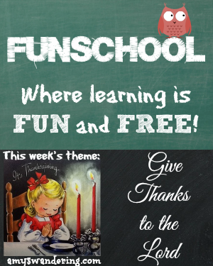 funschool give thanks to the lord