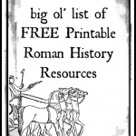 Free Printable Roman History Resources