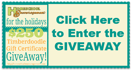 TIMBERDOODLE GIVEAWAY
