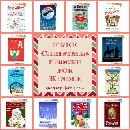 free christmas ebooks for kindle