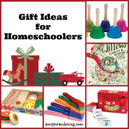 Gift Ideas for Homeschoolers Collage