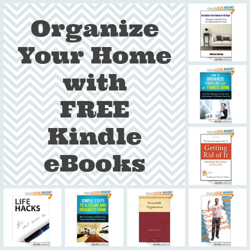 organize with free kindle ebooks