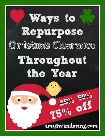 repurposing christmas clearance