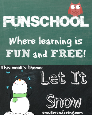 funschool let it snow