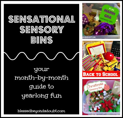 A Year of Sensory Bins