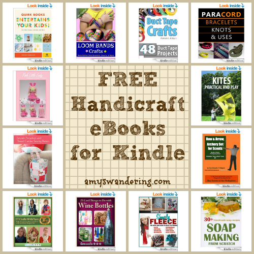 free handicraft ebooks for kindle