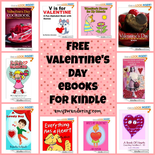 free valentines day ebooks for kindle
