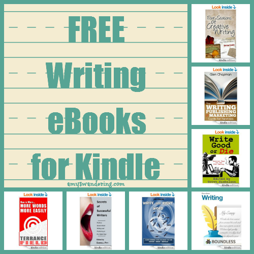 free writing ebooks for kindle