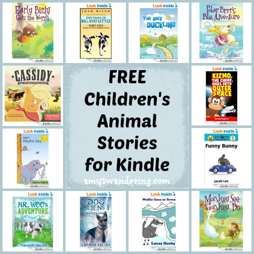 Free Children's Animal Stories for Kindle