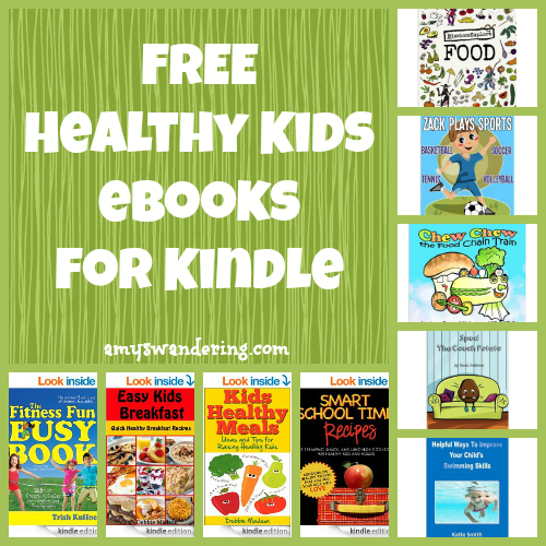 FREE Healthy Kids eBooks for Kindle