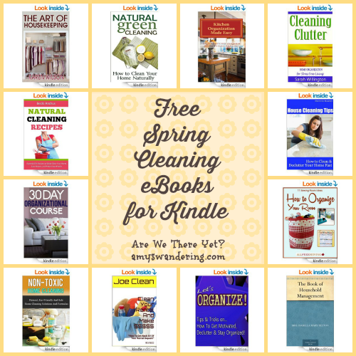 Free Spring Cleaning eBooks for Kindle