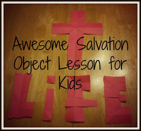 salvationobjectlesson