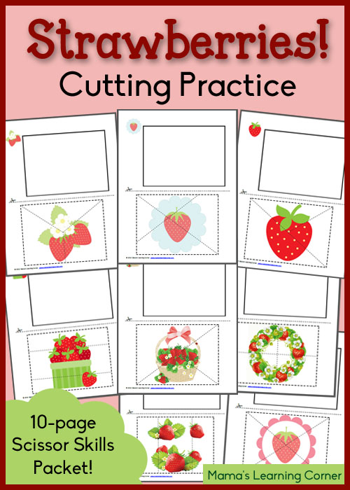 Strawberry-Cutting-Practice-Worksheets