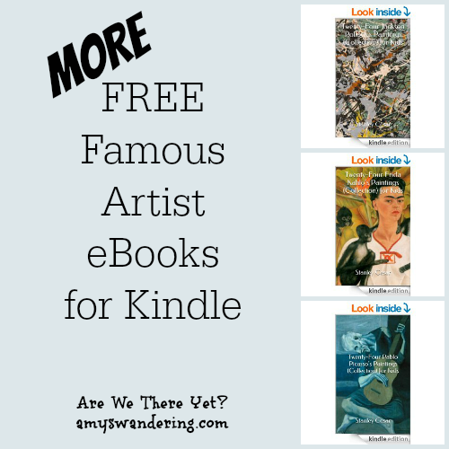 More Free Artist eBooks for Kindle