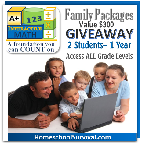 A+ Family Packages Giveaway