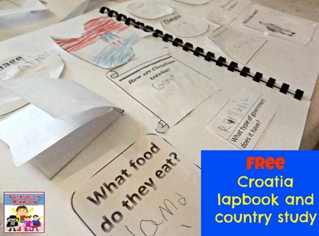 Croatia lapbook