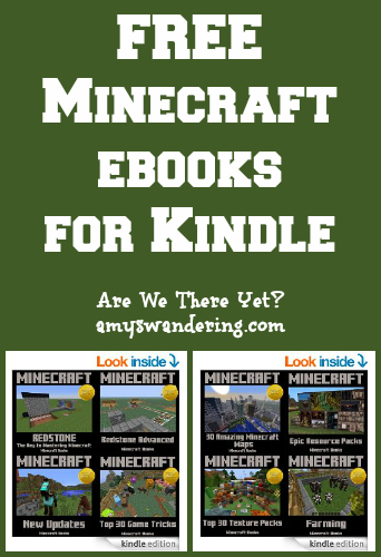 FREE Minecraft ebooks for Kindle