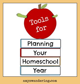tools for homeschool planning