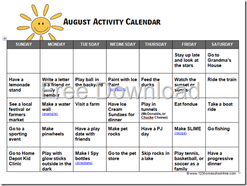 Calendar Lesson Ideas : Homeschool freebies and sales amy s wandering