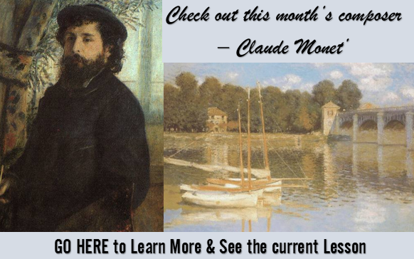 Current Lesson - Classical Composer's Monthly