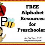 Free Alphabet Resources for Preschoolers