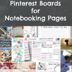 The Best Pinterest Boards for Notebooking Pages