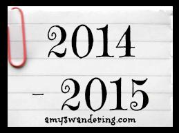 2014-2015 curriculum