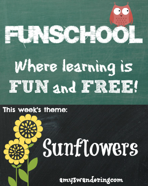 Funschool Sunflowers