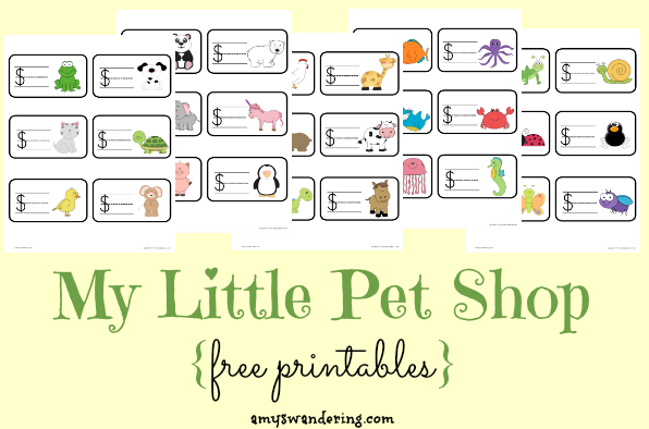 My Little Pet Shop set
