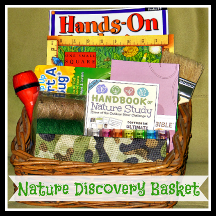 nature discovery basket giveaway
