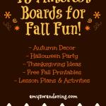 Fun Fall Pinterest Boardss