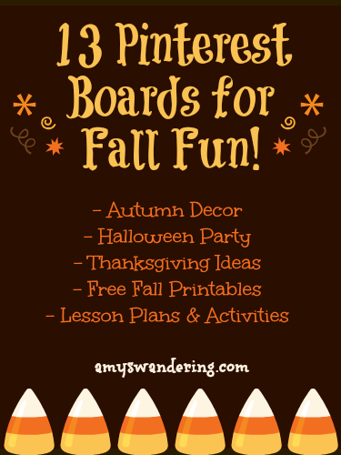 13 Pinterest Boards for Fall Fun