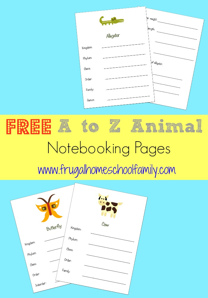 AnimalNotebooking