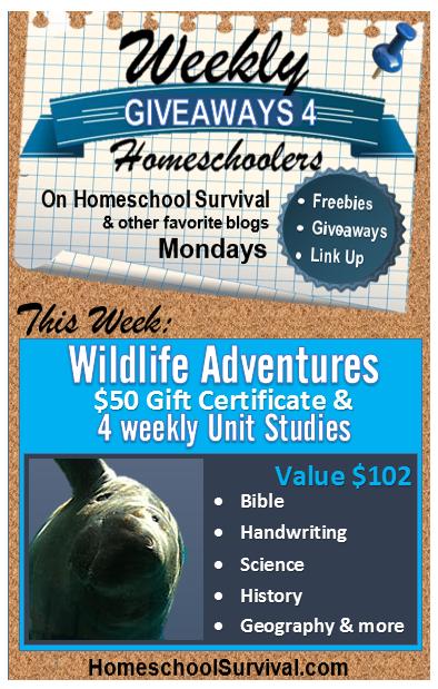 Wildlife Adventures Unit Studies