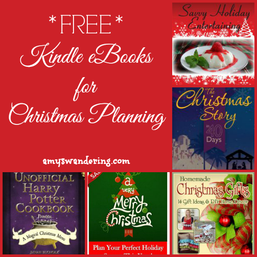 Christmas Planning Kindle eBooks