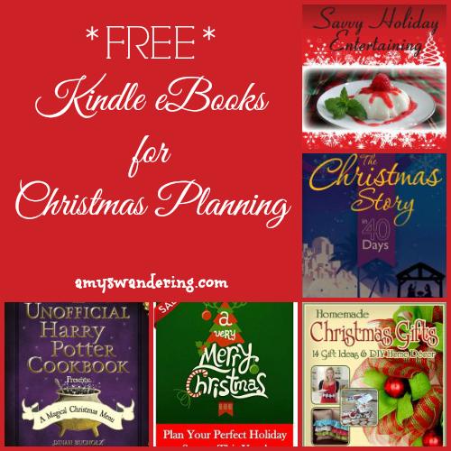 Christmas Planning Kindle eBooks