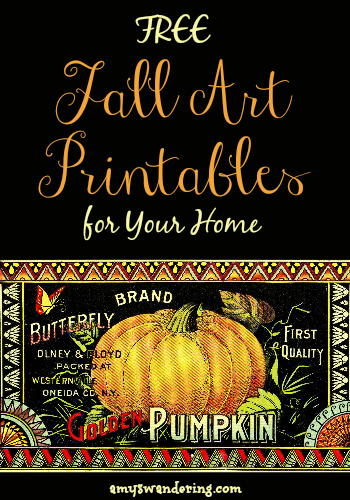 Free Fall Art Printables