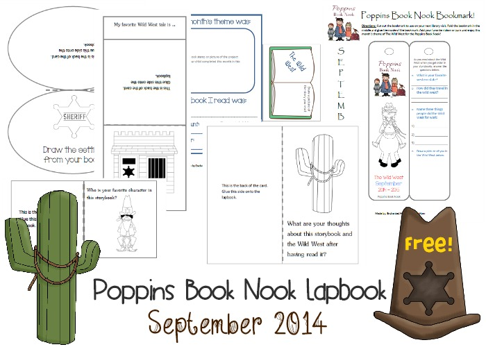 Poppins-Book-Nook-Lapbook-September-2014