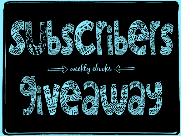 subscribers giveaway black blue